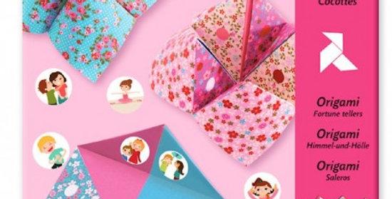 Cocotte à gages origami fleurs