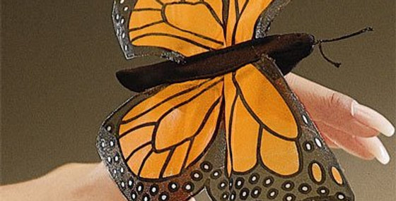 Mini marionnette papillon