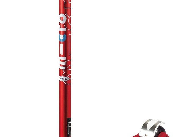 Trotinette Micro maxi deluxe rouge