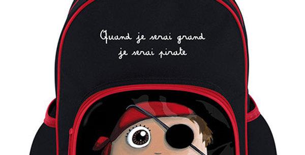 Cartable pirate grand modèle