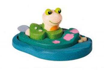 Puzzle vie de la grenouille