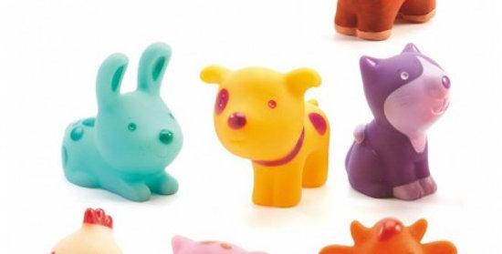 Figurines ferme Djeco