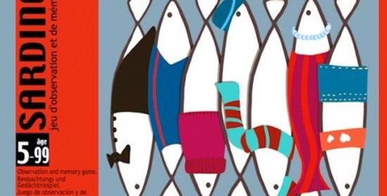 Sardines jeu de cartes