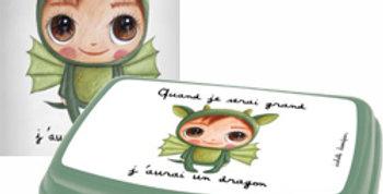 Boîte a tartine dragon