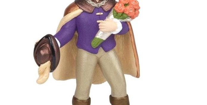 Prince au bouquet de fleur