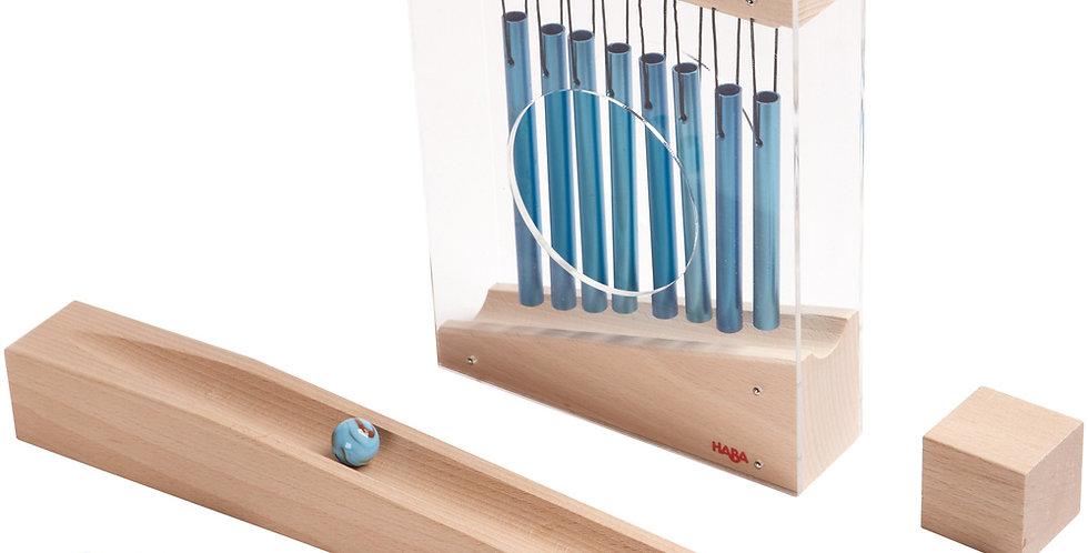 Carillon pour tobbogan à billes