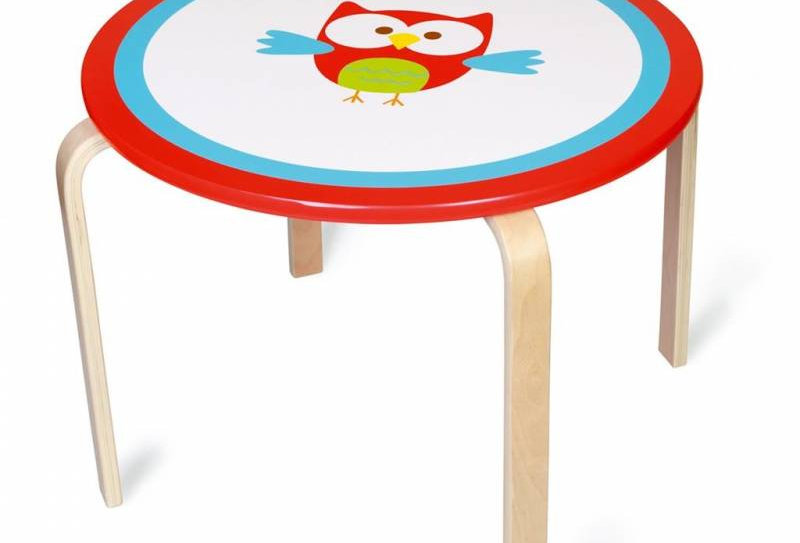 Table ronde hibou