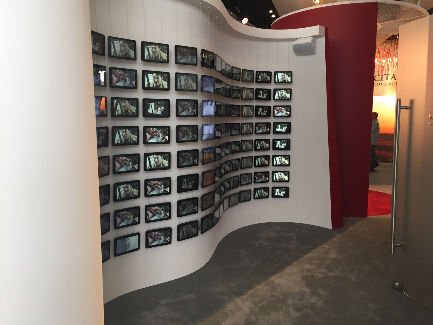 Video Wall for SK-II