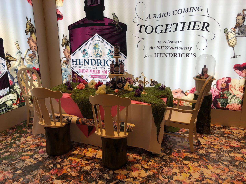 Hendricks display finished_