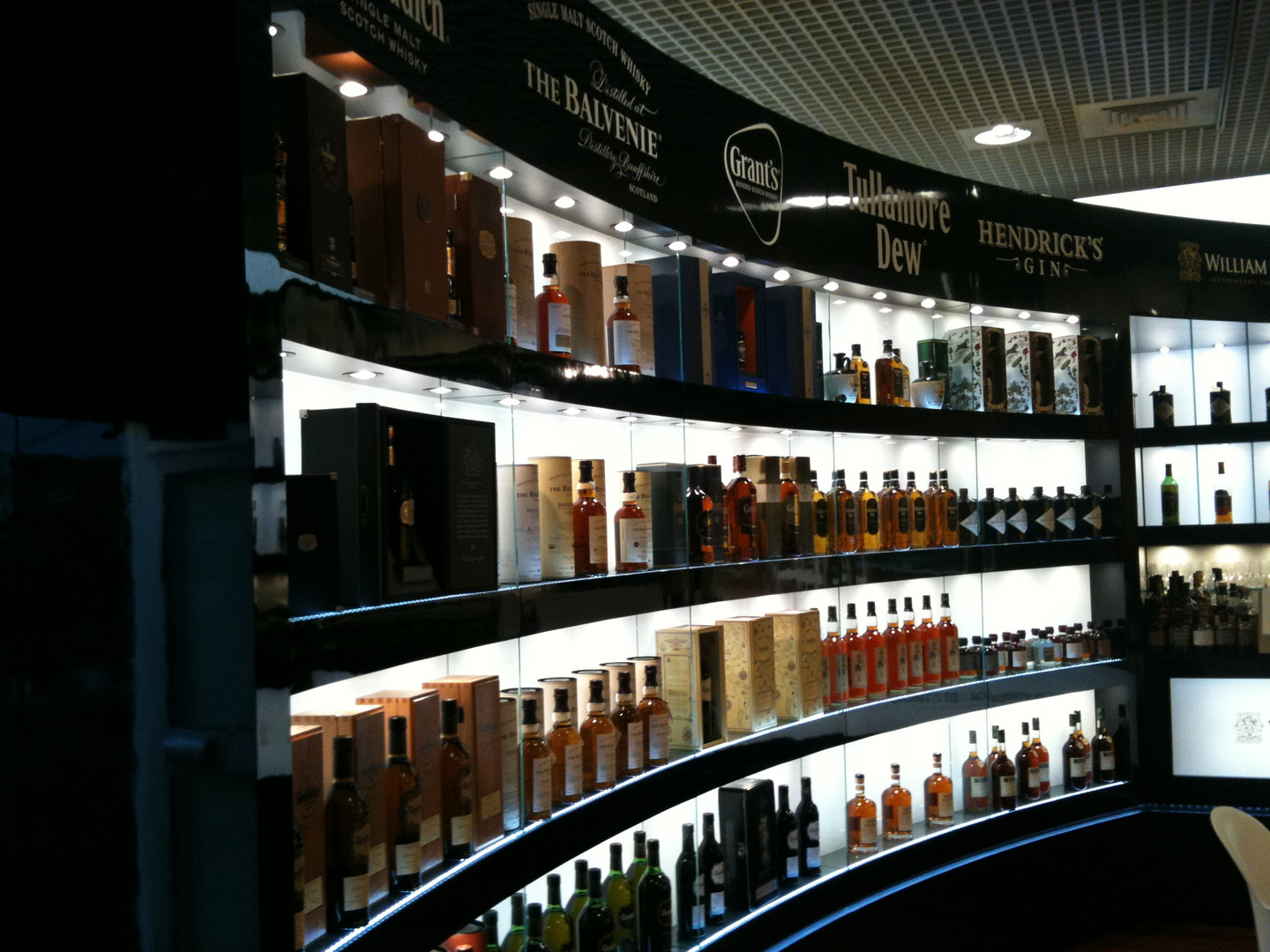 Bottle Display for William Grant & Sons