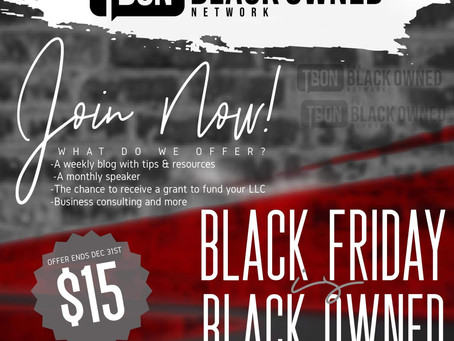 Black Friday is Black-Owned