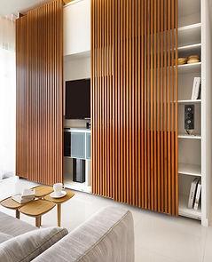 Дизайн раздвижной системы, деревянная раздвижная перегородка между гостиной и кухней