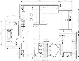 Планировка и дизайн квартиры в Киеве