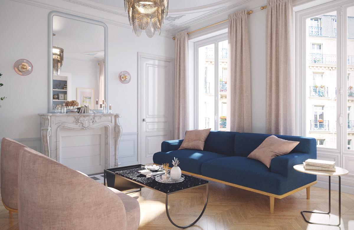 Interieur De Luxe Appartement smirnova interiors - architecte d'intérieur décorateur luxe