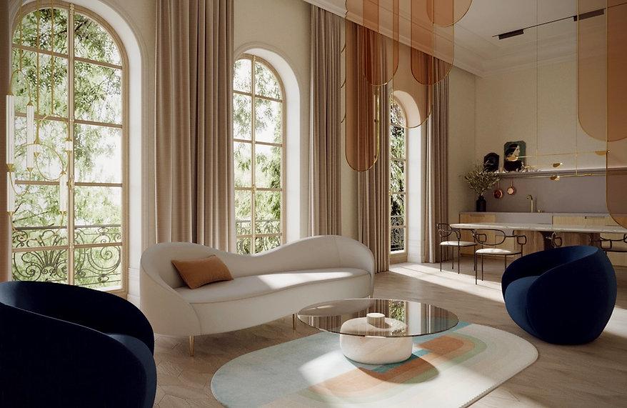 architecte d'intérieur paris 16 haut de gamme, rénovation d'appartement haussmannien, décorateur d'intérieur luxe paris, renovation maison chateau ile-de-France