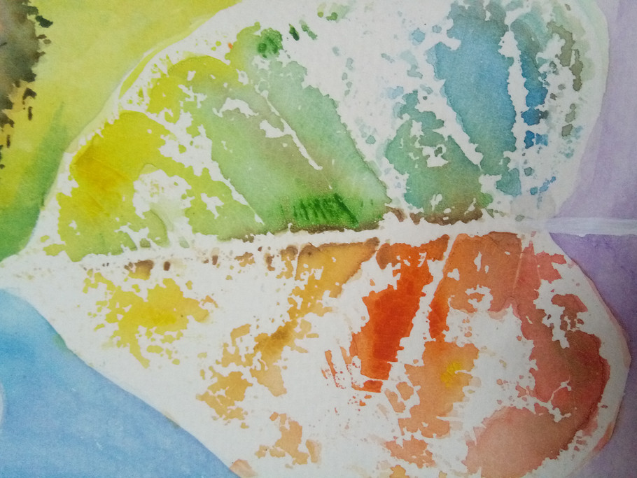 Water Color Impression Art