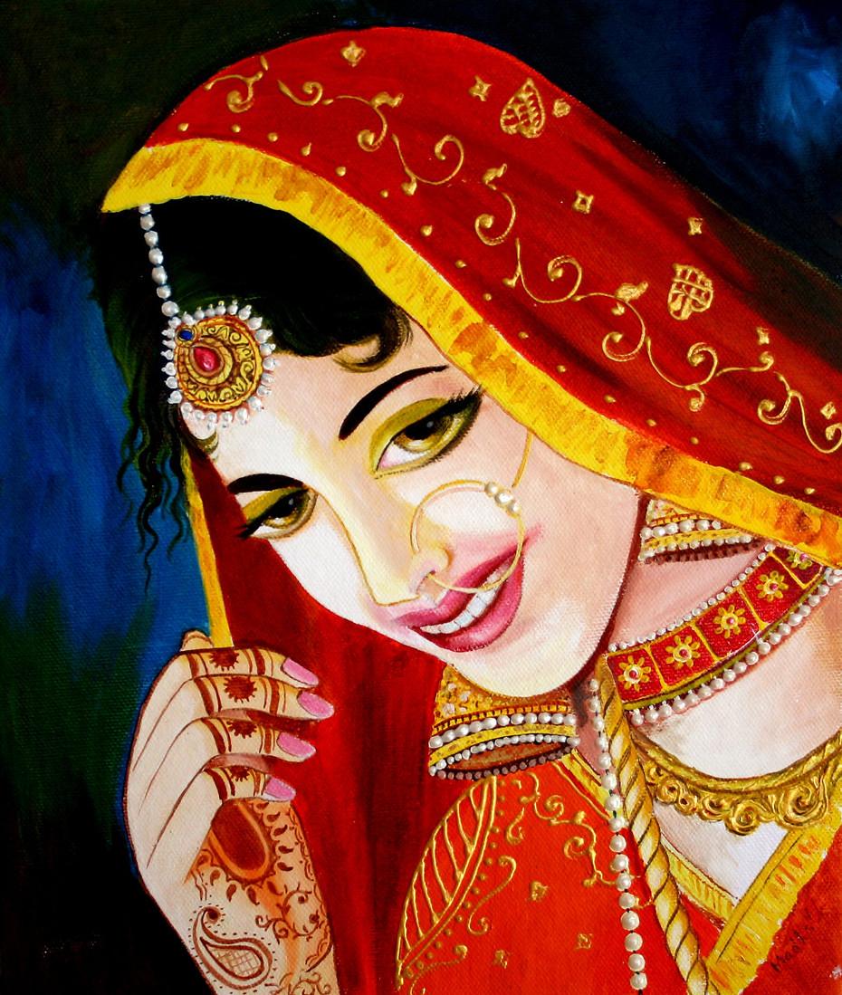 Acrylic Portrait on Canvas - Realistic