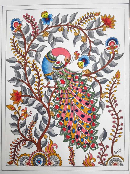 Traditional art... Kalamkari