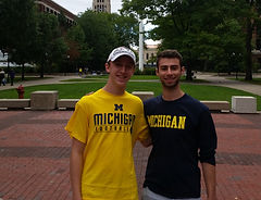 Happy college consulting clients at U. Michigan