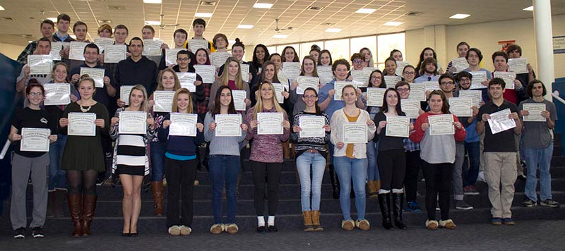 Adams Scholarship Winners 2016