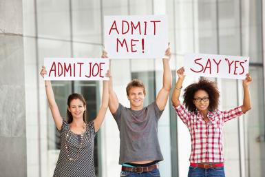 demonstrate interest to college