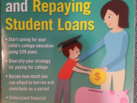 """Top Lessons from""""Paying For College"""" book"""