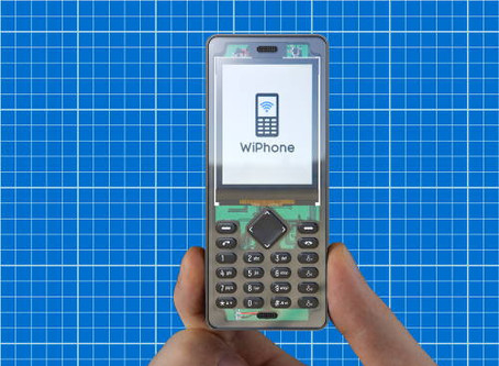 Project WiPhone that's Programmable and reusable out the box