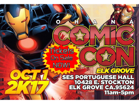 Elk Grove Comic Con 2017