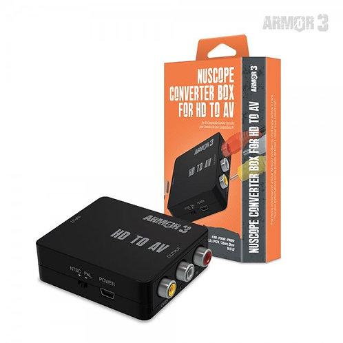 """""""NuScope"""" Converter Box for HD to AV - Armor3"""