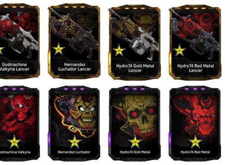 Gears of War 4 / Rockstar Codes Giveaway