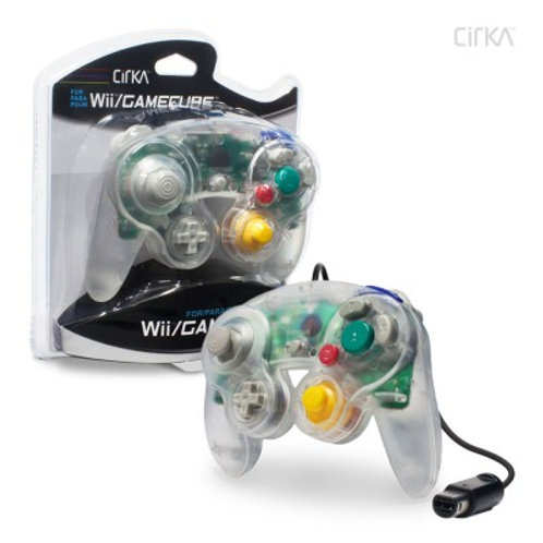 Wired Controller for Wii®/ GameCube® (Clear) - CirKa