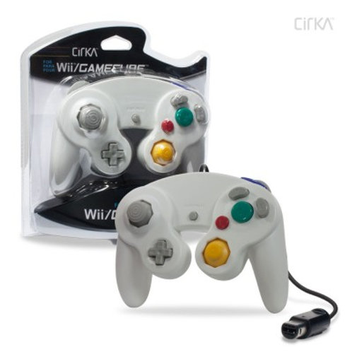 Wired Controller for Wii®/ GameCube® (White) - CirKa