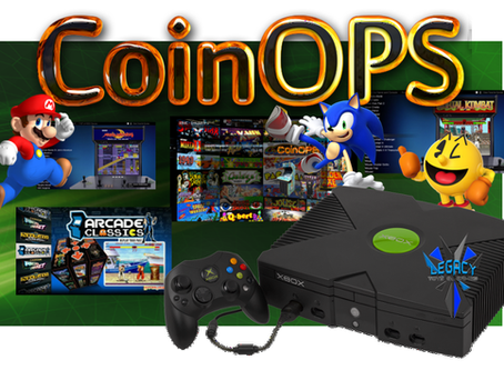 CoinOPs 8 Multi-System Gaming Frontend converts your Xbox to Retro & Arcade Goodness