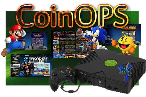 CoinOPs 8 Lite Original Xbox Home Arcade System