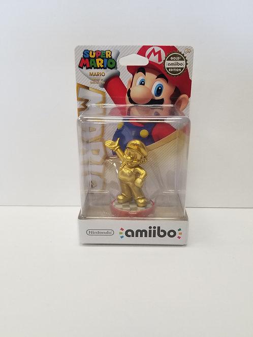 Super Mario Gold Mario amiibo