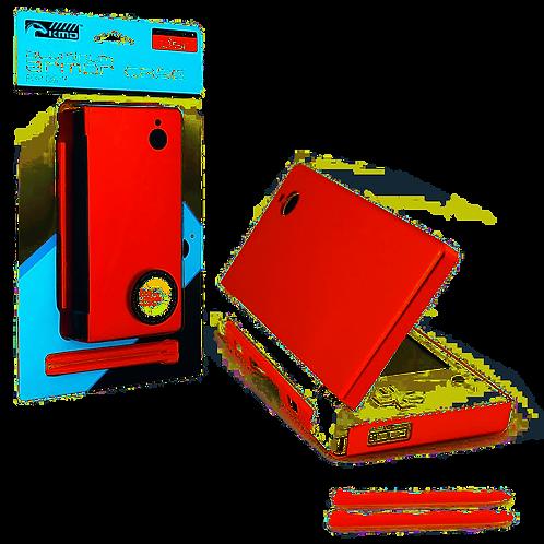 DSi Aluminum Armor Case & Dual Stylus Set (Fire Red)
