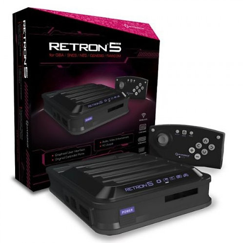 RetroN 5: HD Gaming Console for GBA®/ GBC®/ GB®/ Super NES®/ NES®/ Super Famicom
