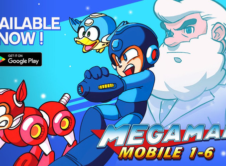 CLASSIC 8-BIT MEGA MAN® GAMES NOW AVAILABLE FOR IOS AND ANDROID