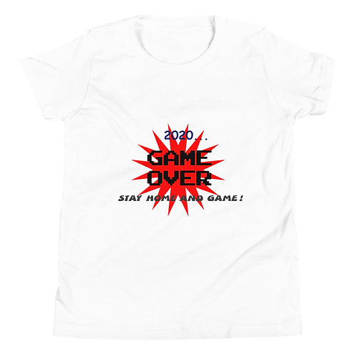 Youth Short Sleeve T-Shirt - Game Over 2020