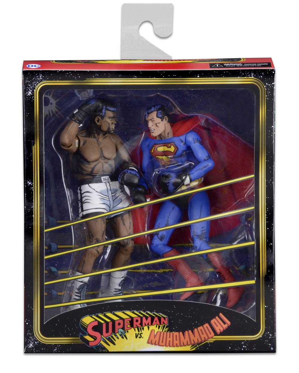 superman vs. Ali NECA figures