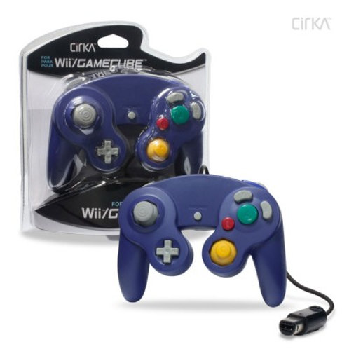 Wired Controller for Wii®/ GameCube® (Purple) - CirKa