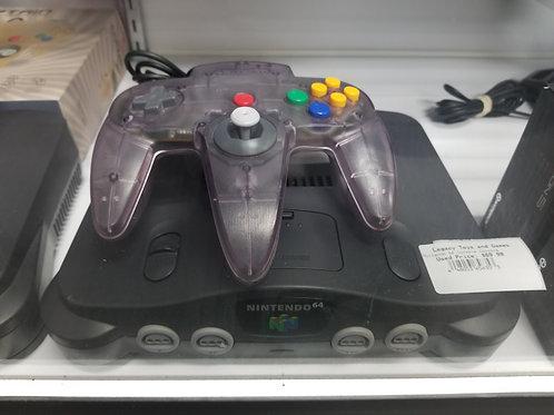 Nintendo 64 Video Game Console