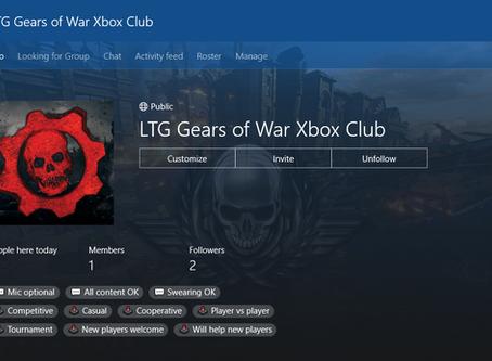 LTG Gears of War Xbox Club