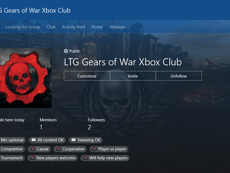 LTG Gears of War Xbox Club