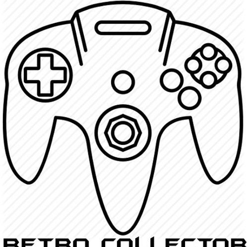 Retro Collector N64 Window Decal
