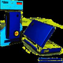 DSi Aluminum Armor Case & Dual Stylus Set (Aqua Blue)