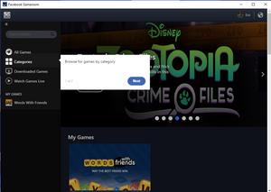 facebook gameroom browse