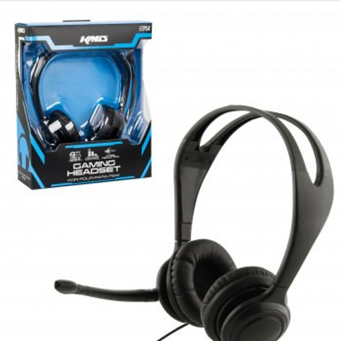 KMD PS4 Gaming Headset w/Mic