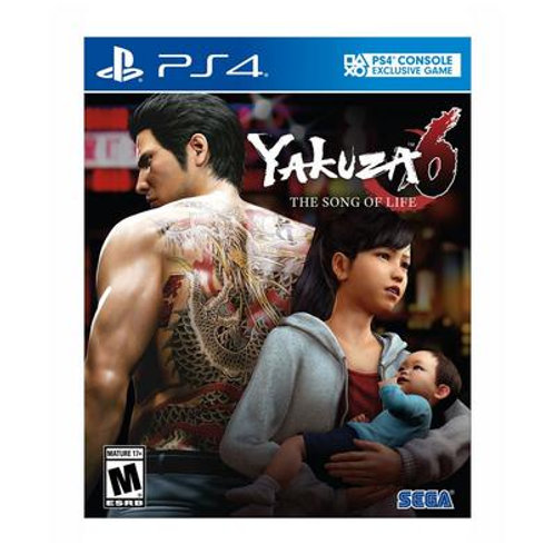 Yakuza 6 The Song of Life Essence of Art Edition (NEW)