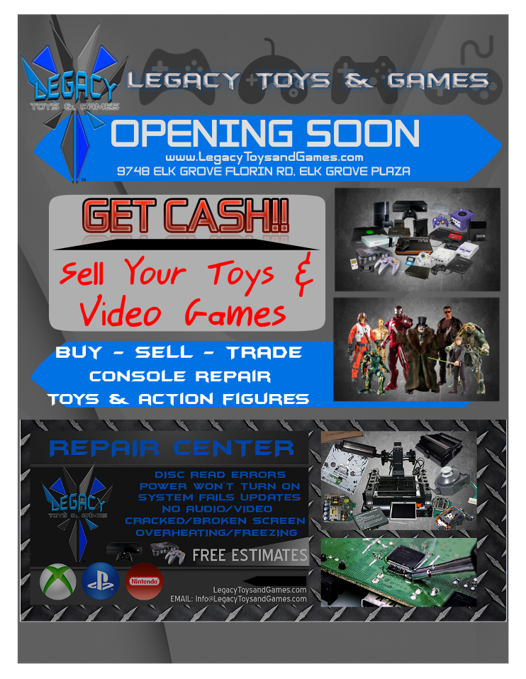 Legacy Toys & Games